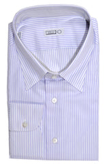 Zilli Shirt Lavender Pink Stripes