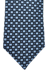 Pal Zileri Tie Navy Blue Geometric