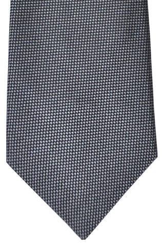 Zilli Tie Charcoal Gray - Wide Necktie