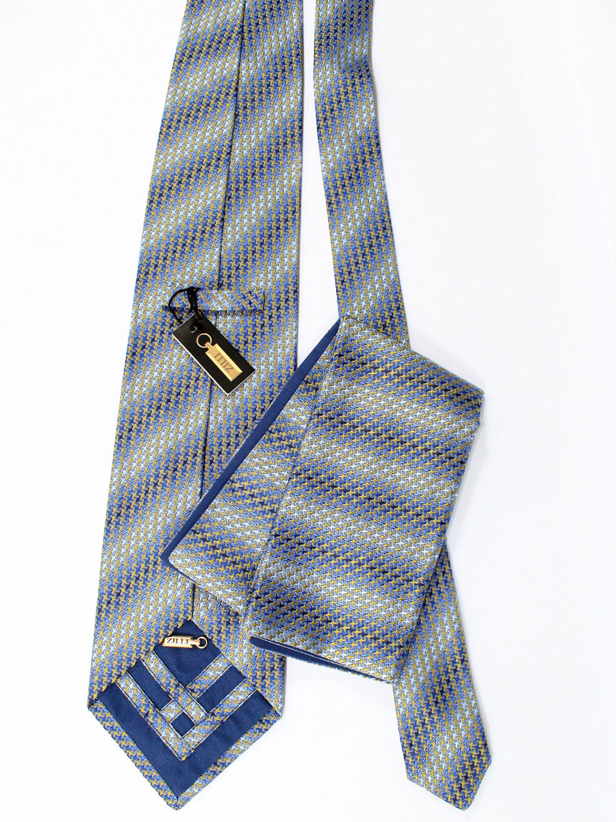 Zilli Silk Tie & Pocket Square Set - Luxury Men Gifts