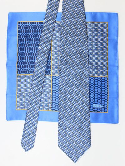 Zilli Silk Tie & Pocket Square Set