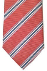 Pal Zileri Silk Tie Red Stripes