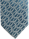 Zilli Tie Blue Silver FINAL SALE