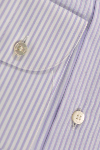 Lavender Pink Stripes Shirt