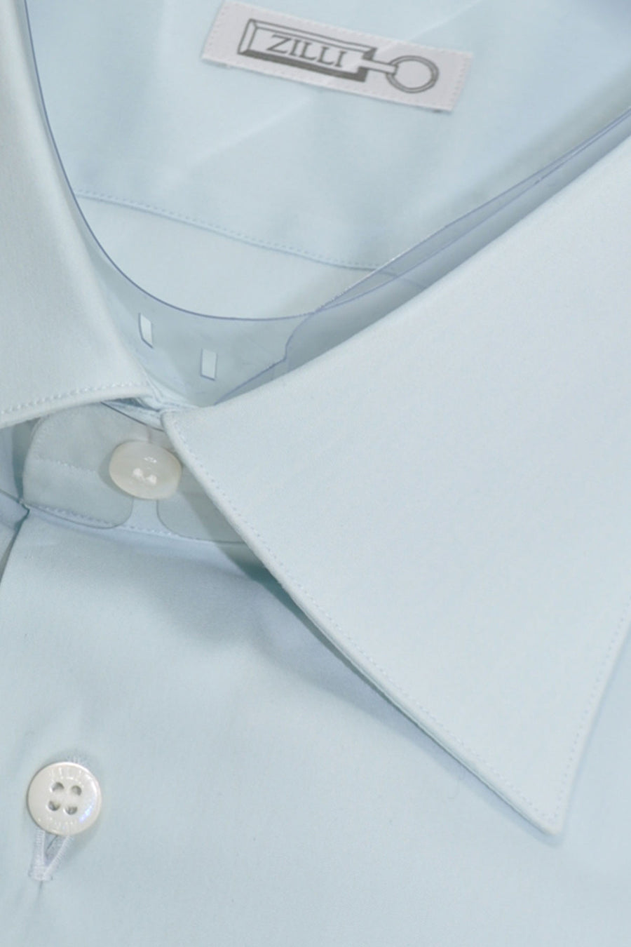 Zilli Shirt Powder Blue Dress Shirt 43 - 17 SALE