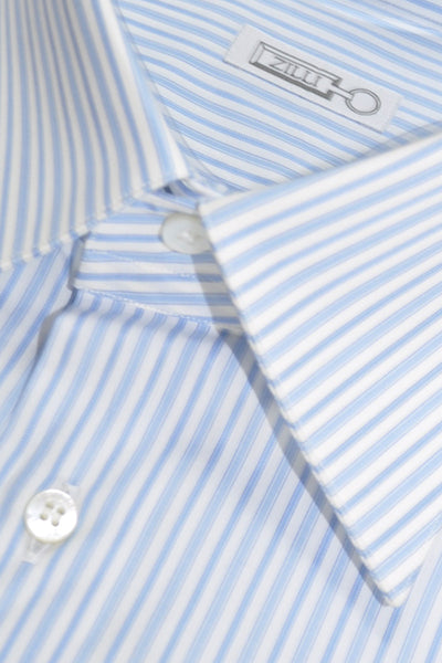 Zilli Shirt Blue Stripes