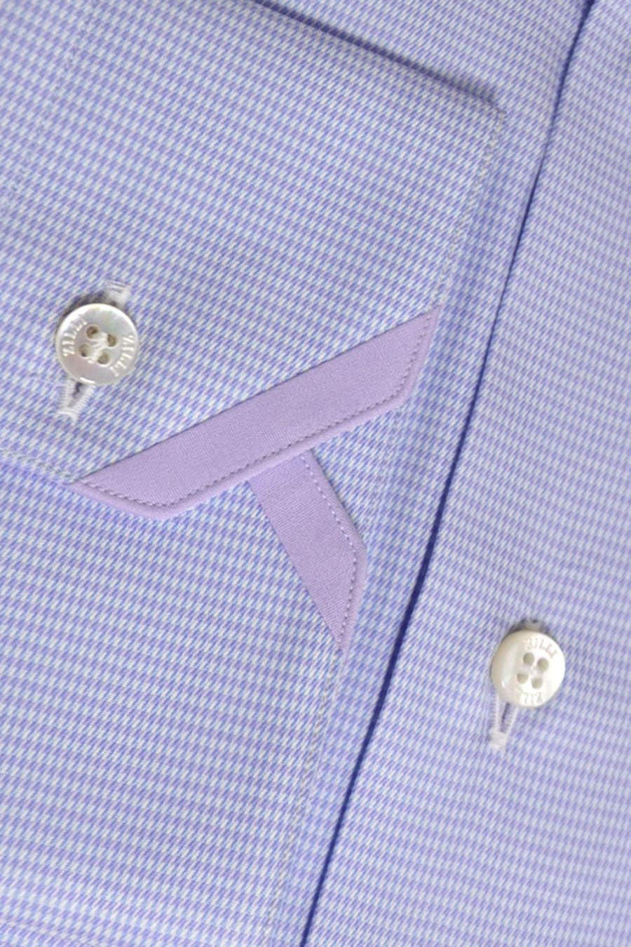 Zilli Dress Shirt Blue Lilac
