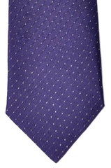 Zilli Tie Purple Mini Dots - Sevenfold Necktie
