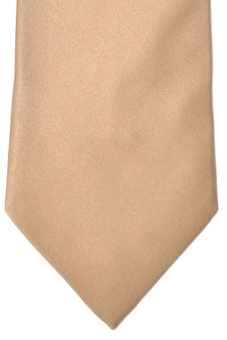 Zilli Tie Solid Cream - Wide Necktie