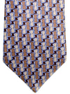 Zilli Tie Brown Gray Design