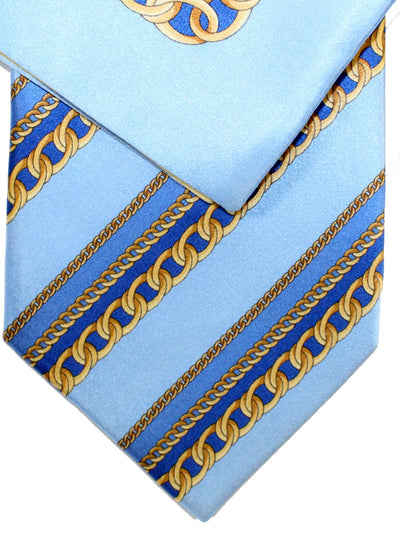 Zilli Silk Tie & Matching Pocket Square