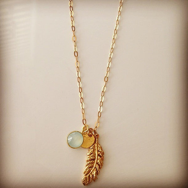 Wind Sea Earth Necklace