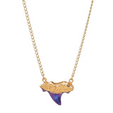Bioluminescence Shark Tooth Necklace