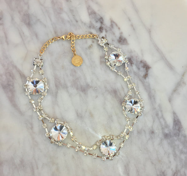 The Eye Rhinestone Choker