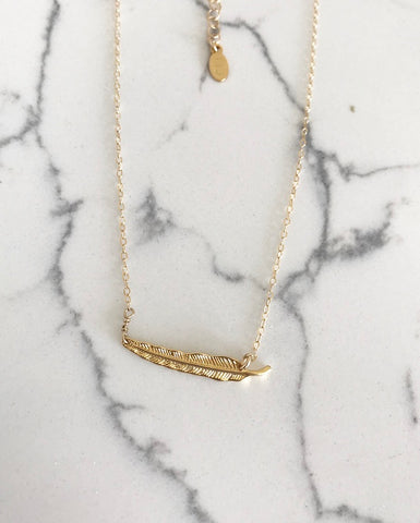 Gold Wind Necklace