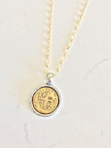 Faith Coin Necklace