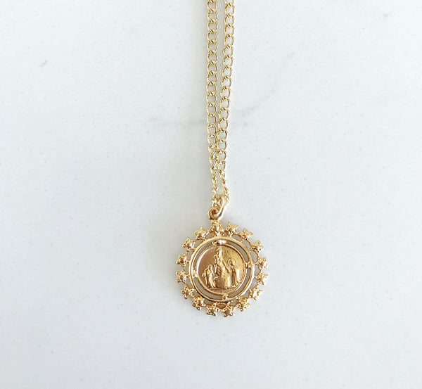 Follow The Star Coin Necklace