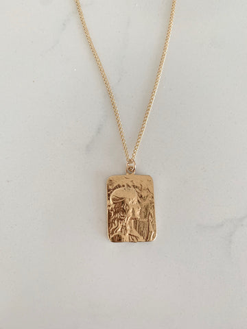 Joan or Arc Necklace