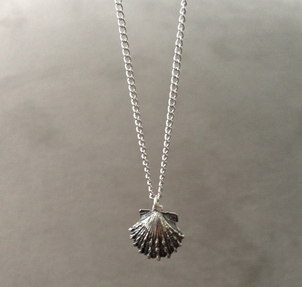 Mini Shell Necklace - Silver