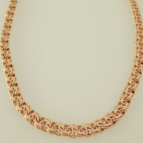 Woven Links Necklace