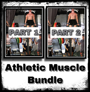 Athletic Muscle Program for Sports (BUNDLE)
