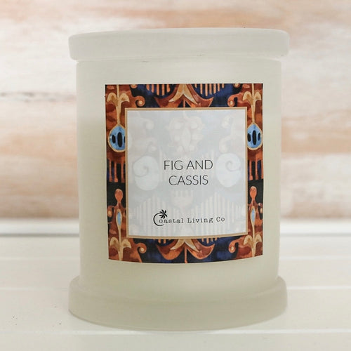 Fig and Cassis 320g Frosted - Coastal Living Co