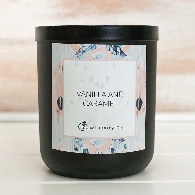 Vanilla Caramel 280g Standard Black - Coastal Living Co