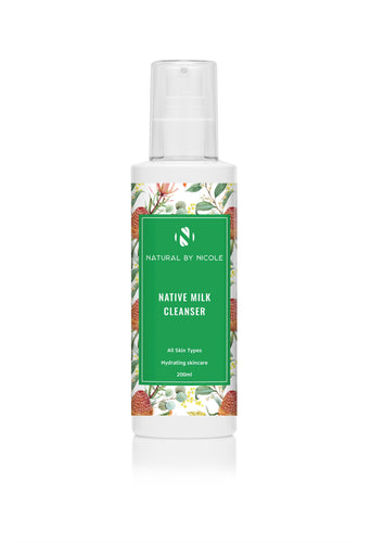 Native Milk Cleanser 200ml - Coastal Living Co