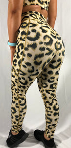 Leopard Leggings (Gold)