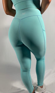 Baby Blue Tranquility Leggings