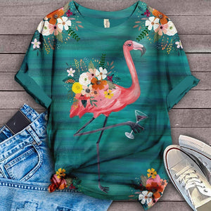 Flamingo Lovers Classic T-Shirt 34