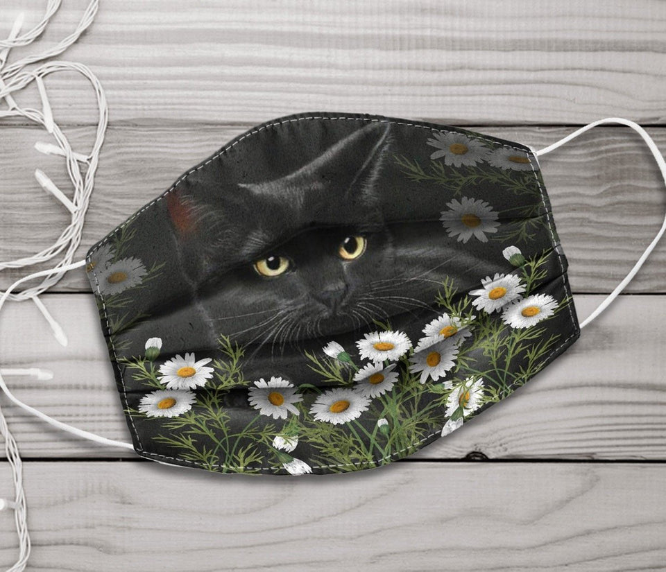 Cat charming Face mask 6