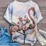 Flamingo Lovers Classic T-Shirt 29