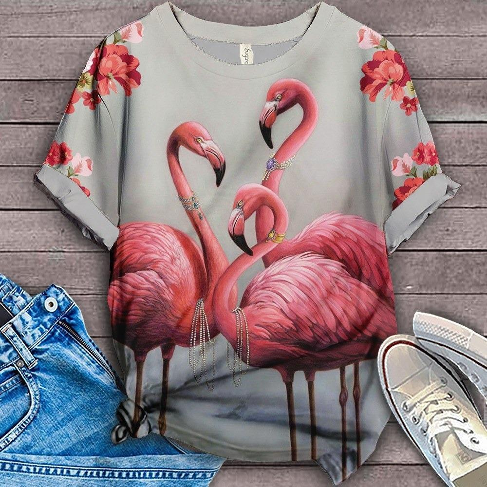 Flamingo Lovers Classic T-Shirt 30