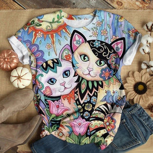 Cat Urban Love You T-Shirt 37