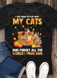 Cat Halloween Charming T-Shirt 5