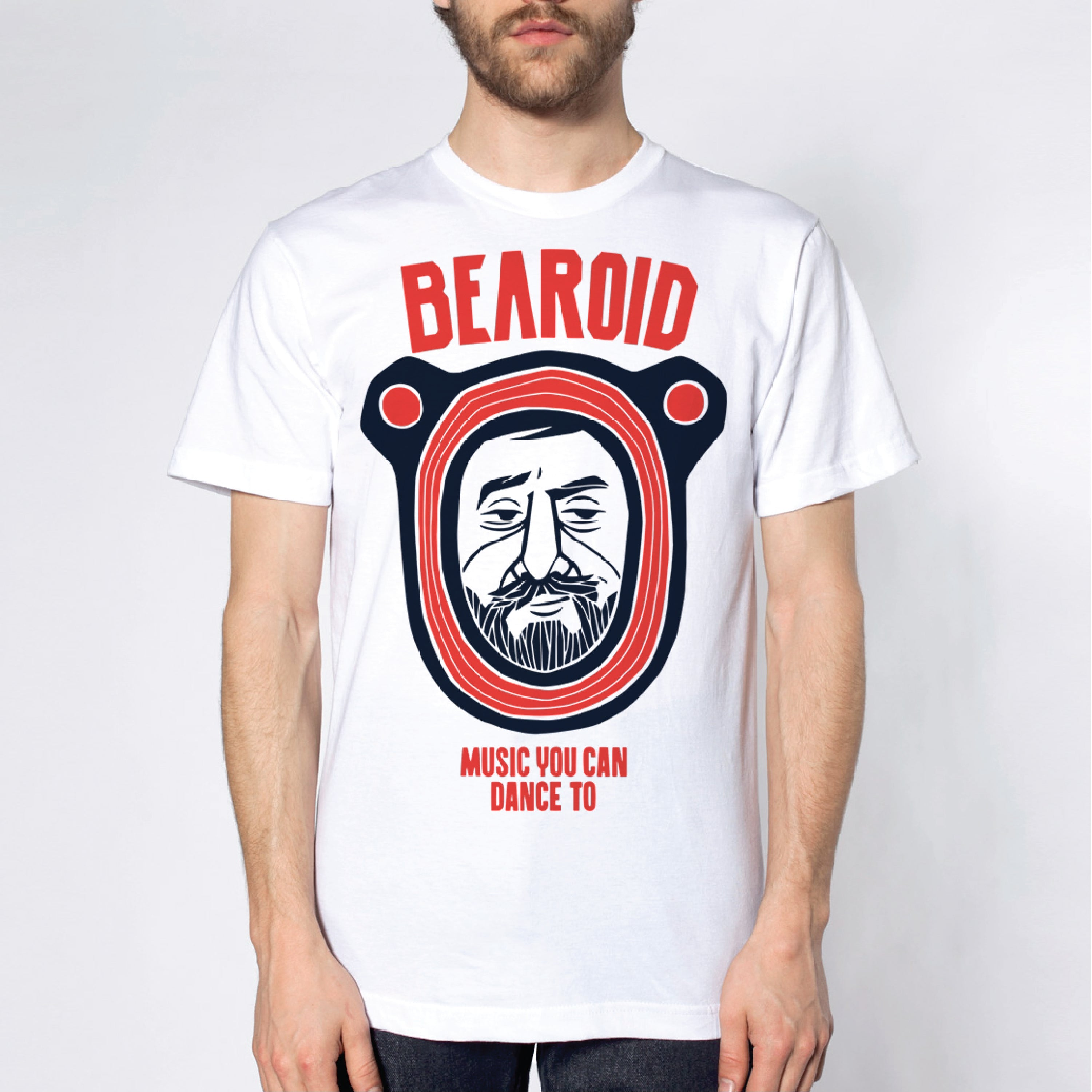 "Bearoid - Camiseta ""Music You Can Dance To"""