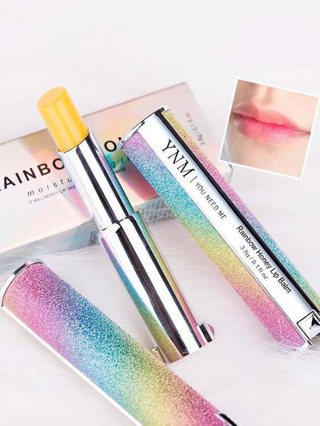 YNM color lip balm rainbow honey gradient lipstick moisturizing anti-dry lip balm