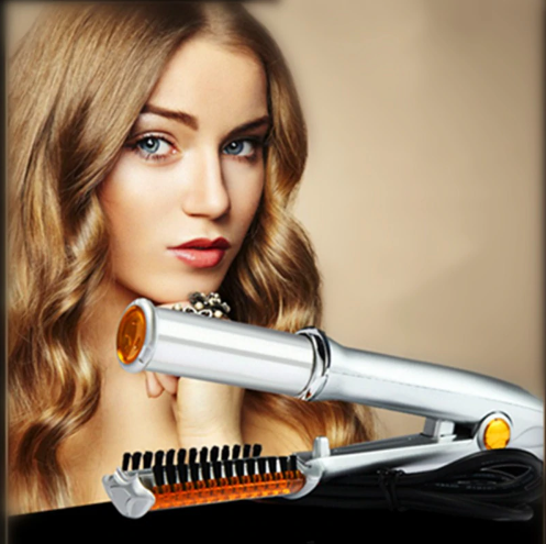 2 IN 1 ROTATING HAIR DRYER AND STYLE