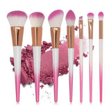 Powder Foundation Blending Eye Shadow Blush Makeup Brush Kits /7pcs