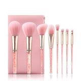 MAKEUP BRUSHES SET 7PCS BRUSHES SET WITH MAKEUP Bag