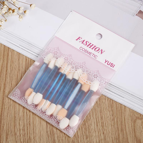 Disposable Sponge Dual Sided Makeup Brush