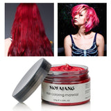 7 Colors Disposable Hair Color Wax Dye