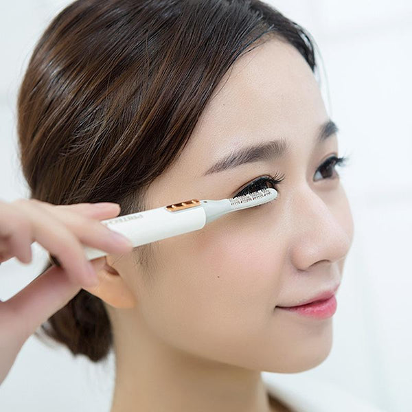 MINI ELECTRIC HEATED EYELASH CURLER PEN