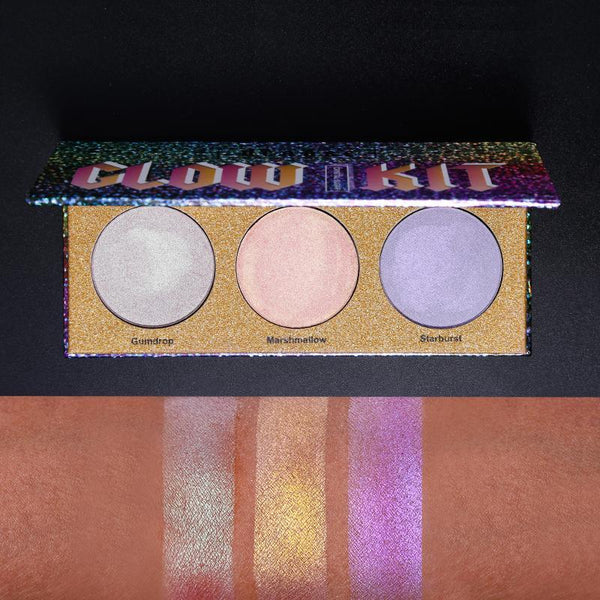3 Color Chameleon Highlighter Palette