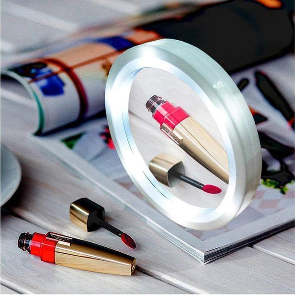8X LED Magnetic Mirror