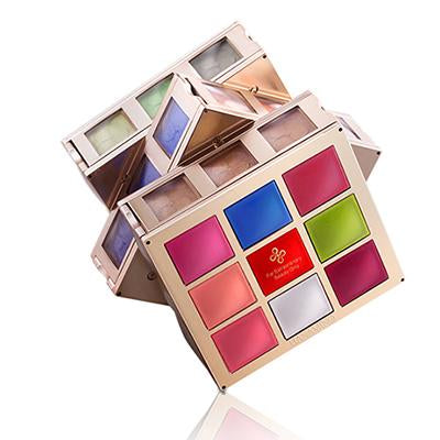 【TODAY FREE SHIPPING】 Rubik's Cube 36 Colors Professional Brand Eyeshadow Palette Matte Makeup Long Lasting Shimmer Glamorous Smokey Eye Shadow Cosmetic