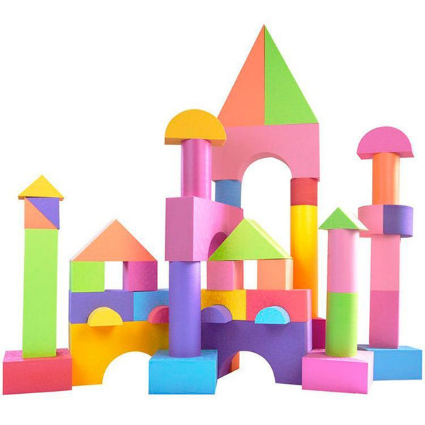 SRF Baby EVA Foam Bricks Bricks Soft Sponge Children Assembled Blocks