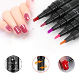 One-Step Easy Gel Nail Polish Pen Various Lush Colors
