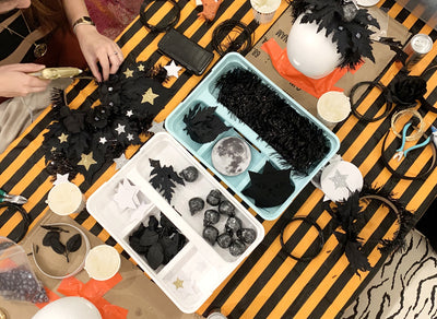 Halloween Headdress Making